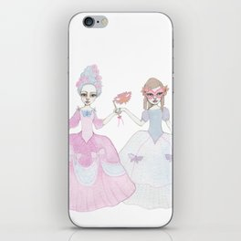 masquerade ball iPhone Skin