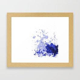 Passion Blue Framed Art Print