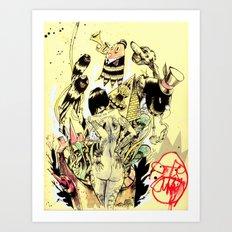 SEARCH & DESTROY.  Art Print