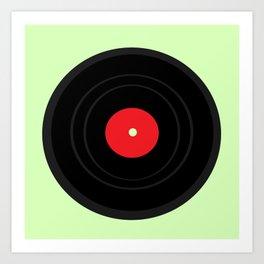 Record Art Print