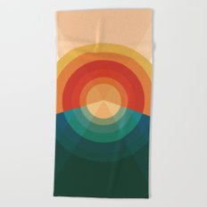 Sonar Beach Towel