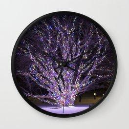 Longwood Gardens Christmas Series 41 Wall Clock