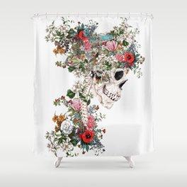 Skull Queen Shower Curtain