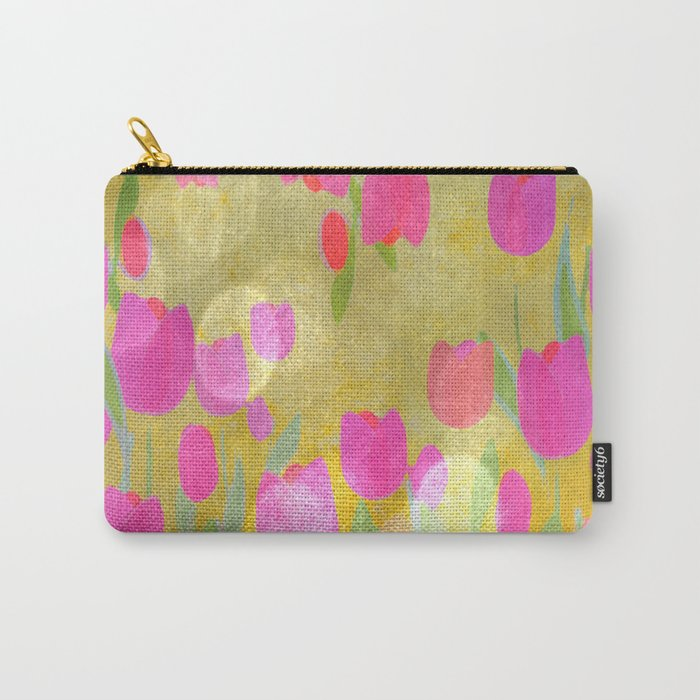 Tulips Love Carry-All Pouch