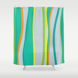 Lifestyle Yoga Mat Seaweed Shower Curtain