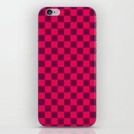 Checkered Pattern IV iPhone Skin