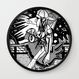 FAR FROM HERE Wall Clock