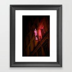 Oh l'amour Framed Art Print