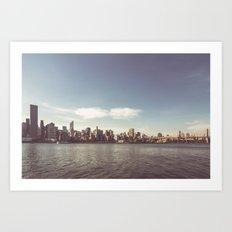 Manhattan Skyline | New York City Art Print