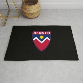 Denver Colorado Shield Rug