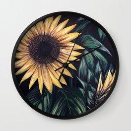 Sunflower Life Wall Clock