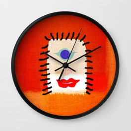 fantasy drawing Wall Clock