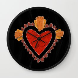 Black love Wall Clock