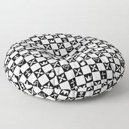 Kingdom Hearts pattern Floor Pillow