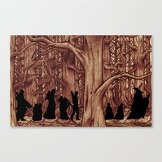 On the way (The Fellowship of the Ring, LOTR) Version 2 Canvas Print