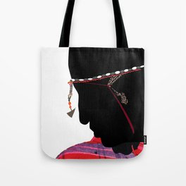 Maasai Man Tote Bag