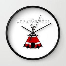 Urban Camper Wall Clock