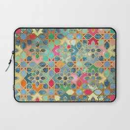 Gilt & Glory - Colorful Moroccan Mosaic Laptop Sleeve