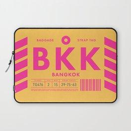 Luggage Tag D - BKK Bangkok Suvarnabhumi Thailand Laptop Sleeve