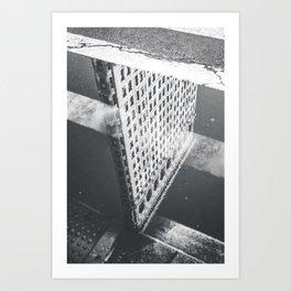 Flat Iron Building - NYC Reflection Art Print
