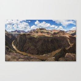 Grand Canyon River View Canvas Print