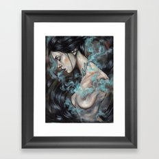 Smoked Framed Art Print