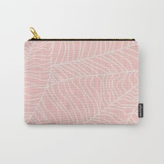 TROPICAL LEAVES - pink palette Carry-All Pouch