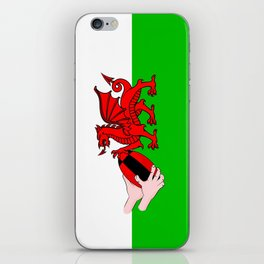 Wales Rugby Flag iPhone Skin