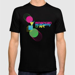 American Academy of Art Geometric Print  T-shirt