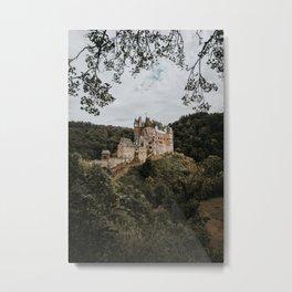 Historic Burg Eltz | Travel photography Germany - moody tones in Europe Art Print Metal Print