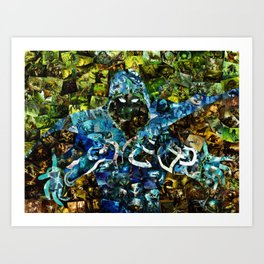 Jace, Mind Mage Art Print