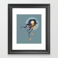 Marcy  fanart  Framed Art Print