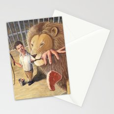 Don't Bite the Hand That Feeds You Stationery Cards