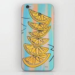 A Stack of Lemon Slices - Modern iPhone Skin