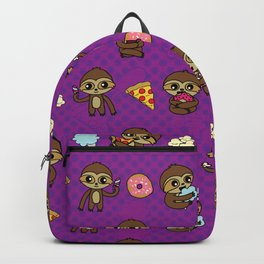 Snacking Sloths Backpack
