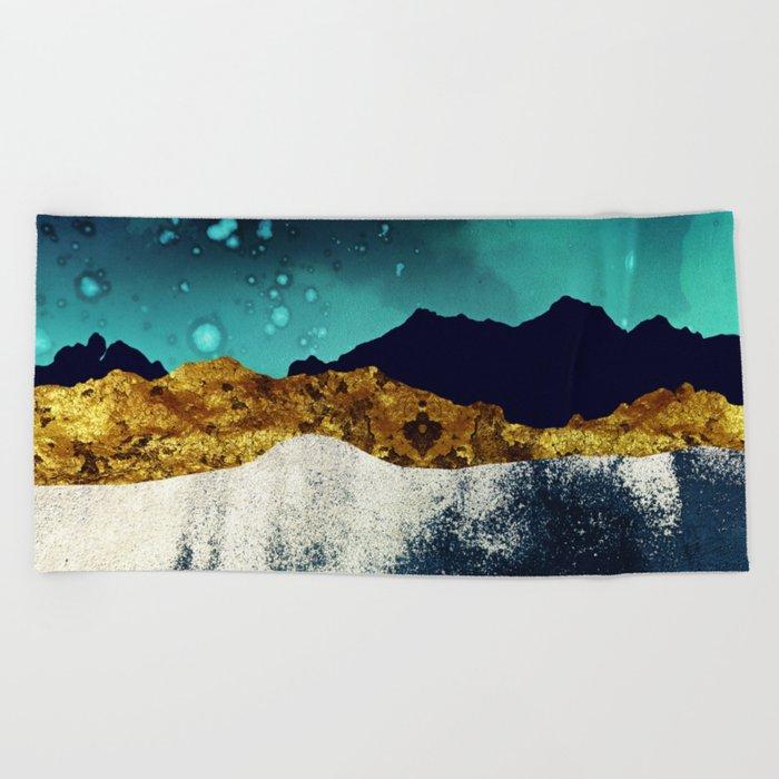 Evening Stars Beach Towel