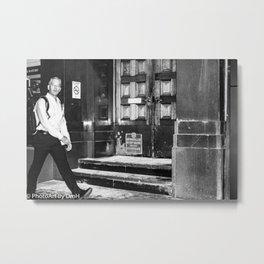 Man walking  Metal Print