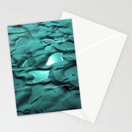 Sun Puddles Teal Stationery Cards