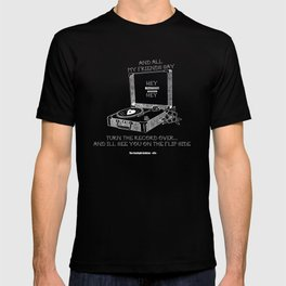Turn the record over... The Gaslight Anthem T-shirt