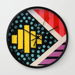 Happy Geo Wall Clock