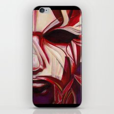 Red Face iPhone & iPod Skin