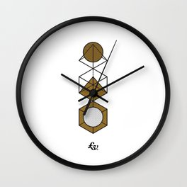 Combined Module Wall Clock