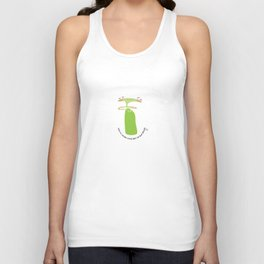 on the inside : chilling out Unisex Tank Top