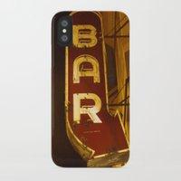 bar iPhone & iPod Cases featuring Bar by Joseph Skompski