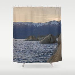 Boulders x Tahoe Shower Curtain