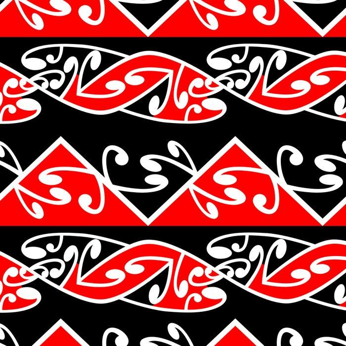 Kowhaiwhai Traditional Maori Koru Pattern Leggings