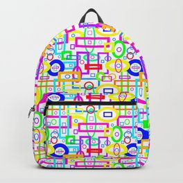 Rectangles and Elipses in Color (2018) Backpack