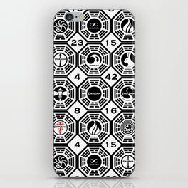 Dharma Station and The Numbers iPhone Skin