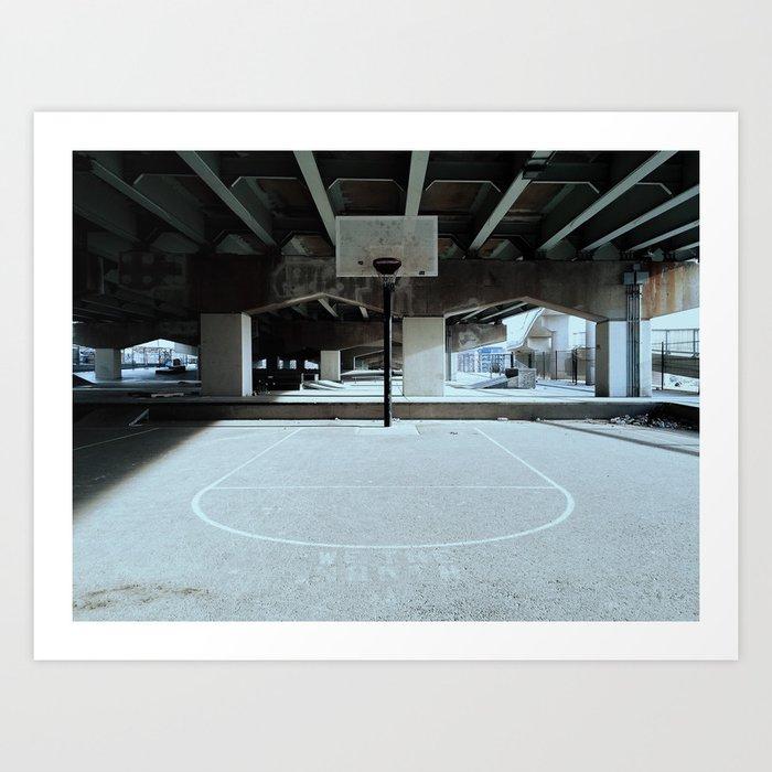 The Court Art Print