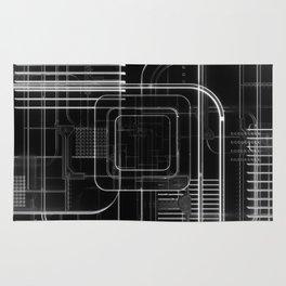 Xray 3D Illustration Rug
